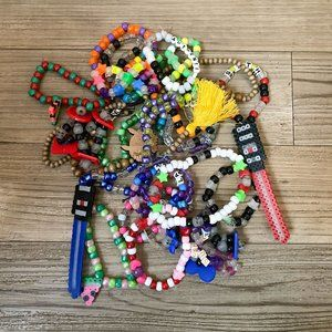 Jewelry - Bundle of 25 rave kandi bracelets